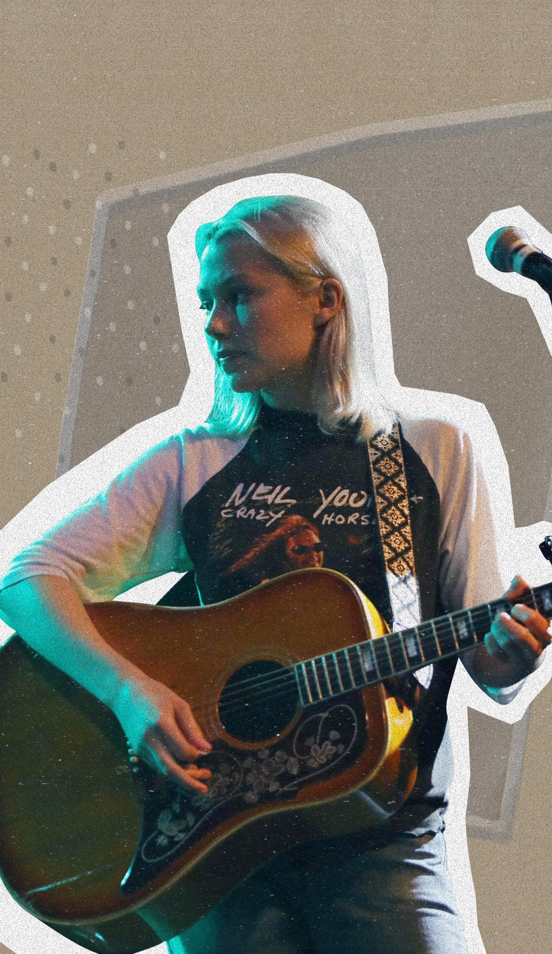 A Phoebe Bridgers live event