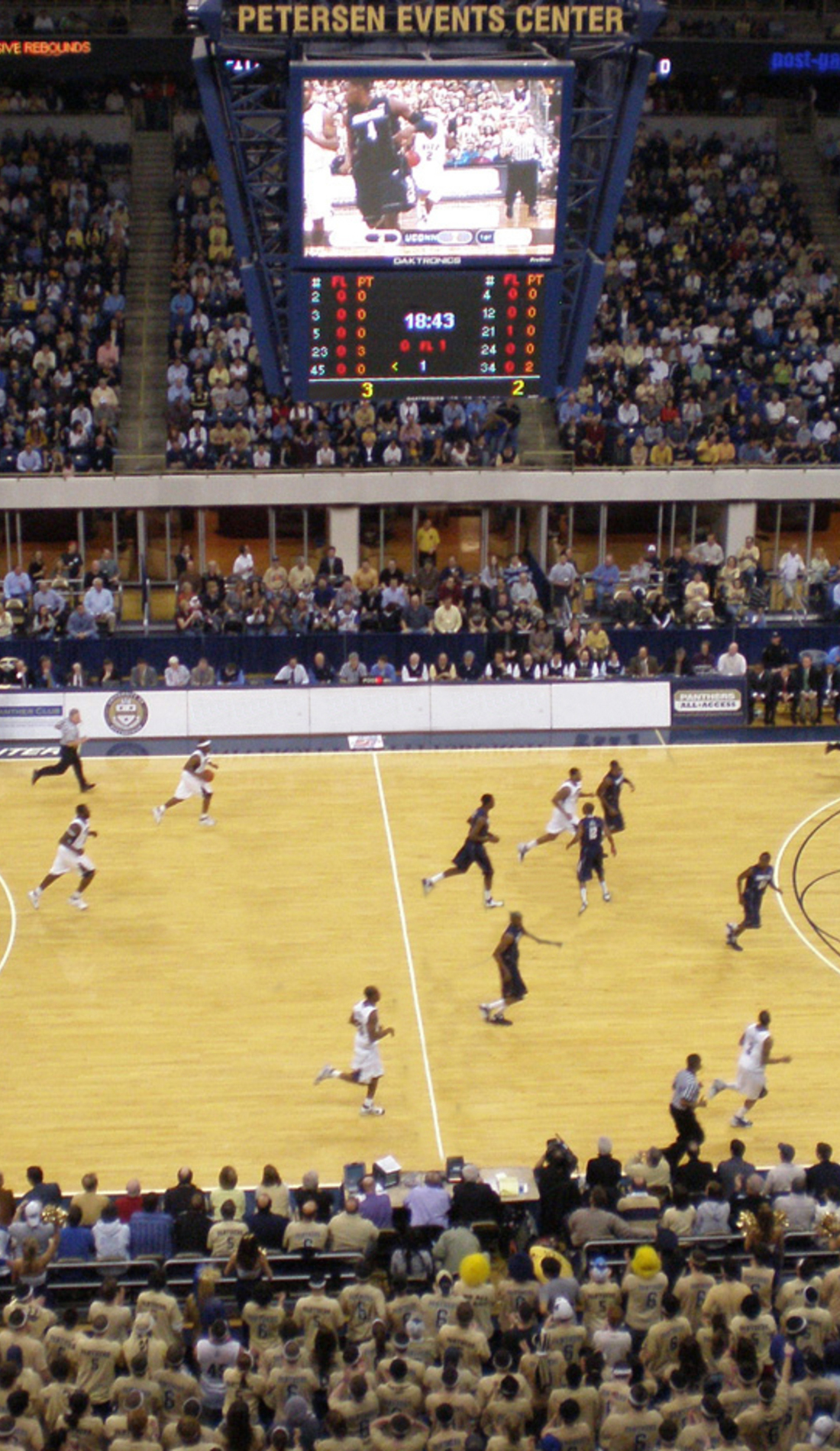 A Pittsburgh Panthers Basketball live event