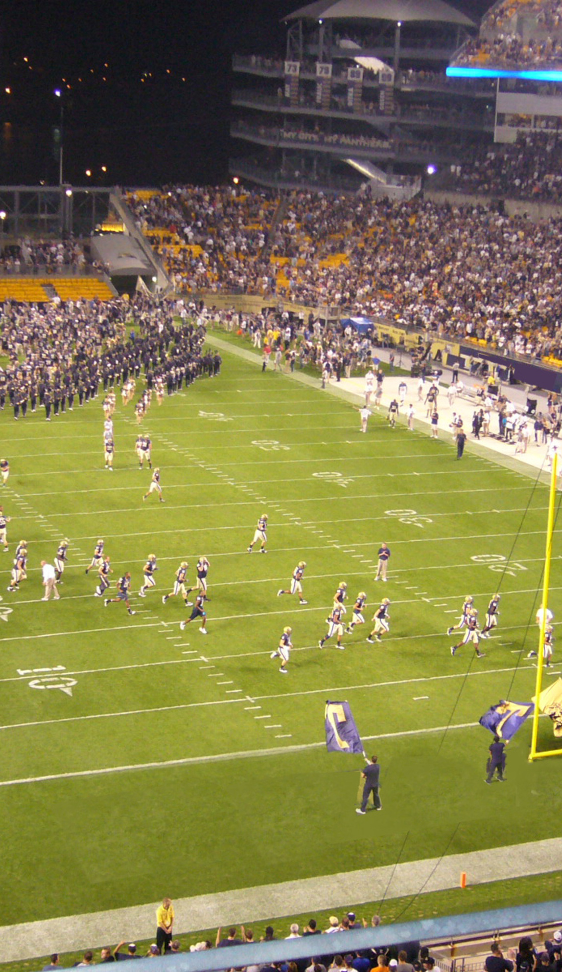 A Pittsburgh Panthers Football live event