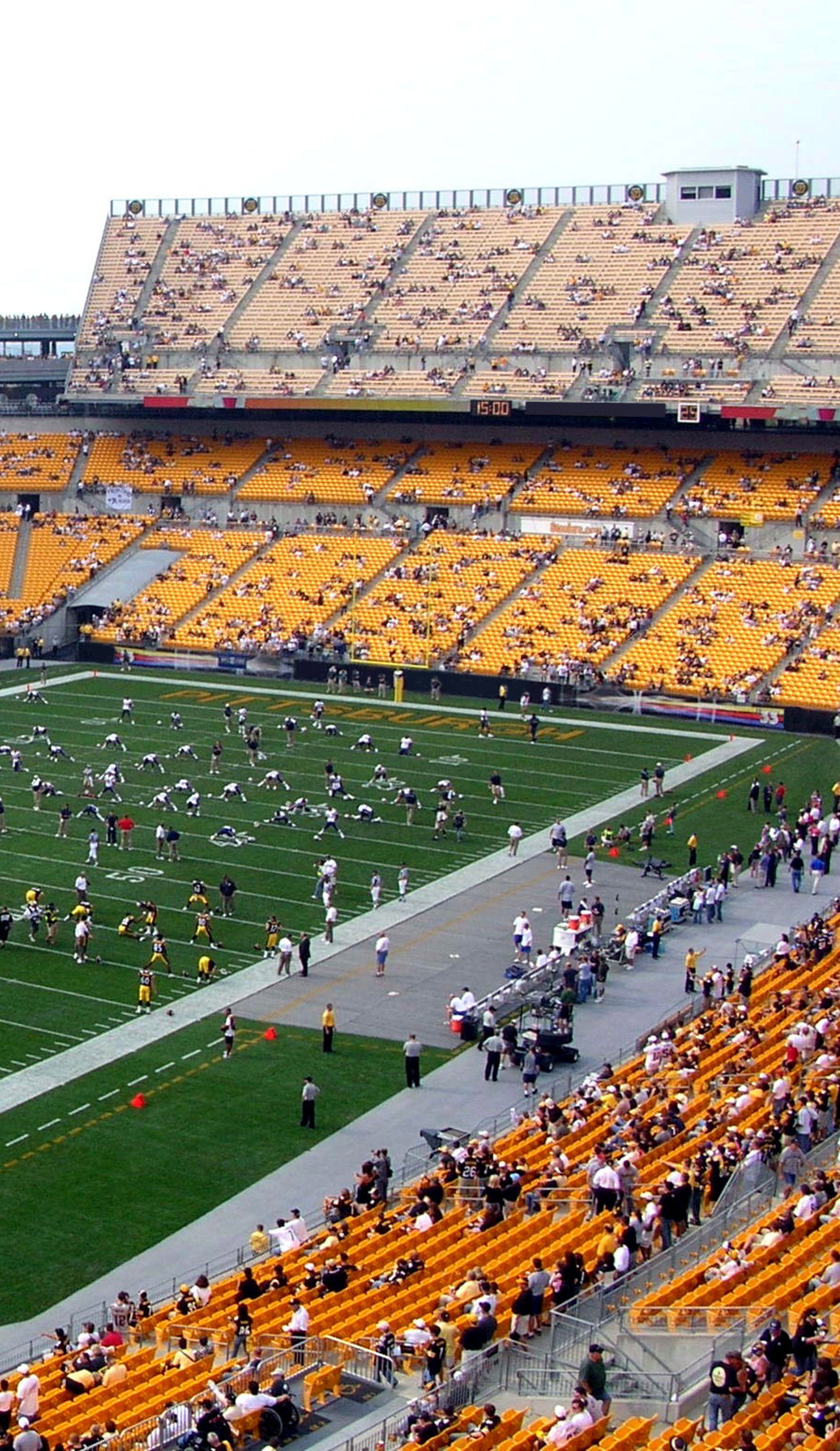 A Pittsburgh Steelers live event
