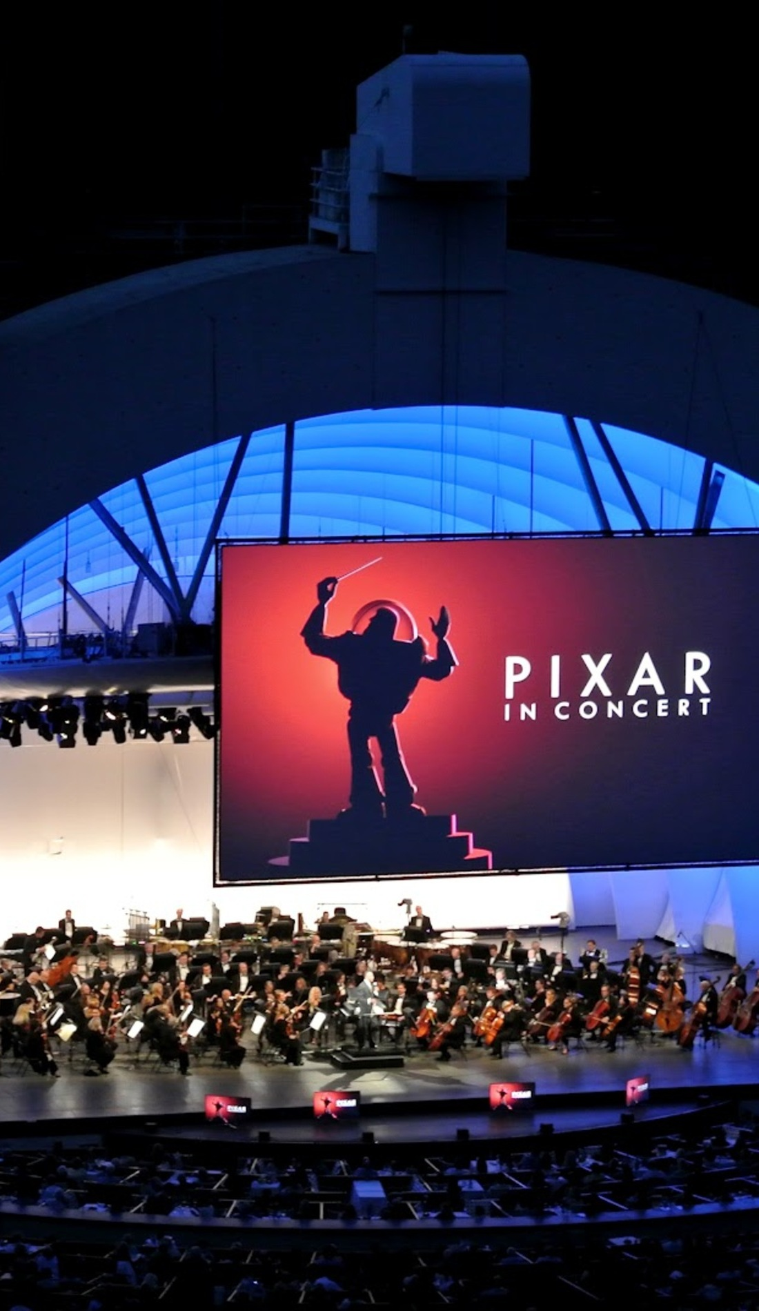 A Pixar In Concert live event