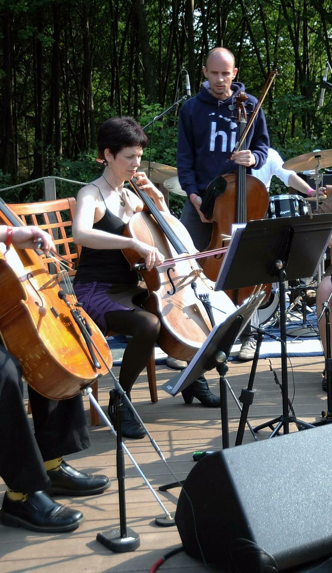 A Portland Cello Project live event
