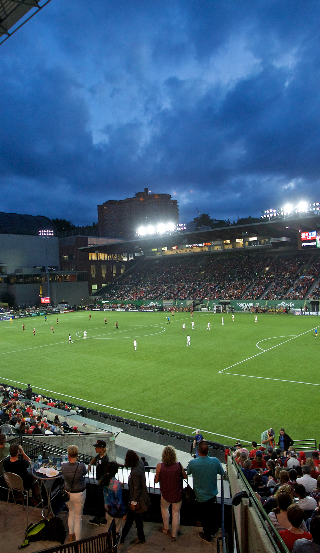 A Portland Thorns FC live event