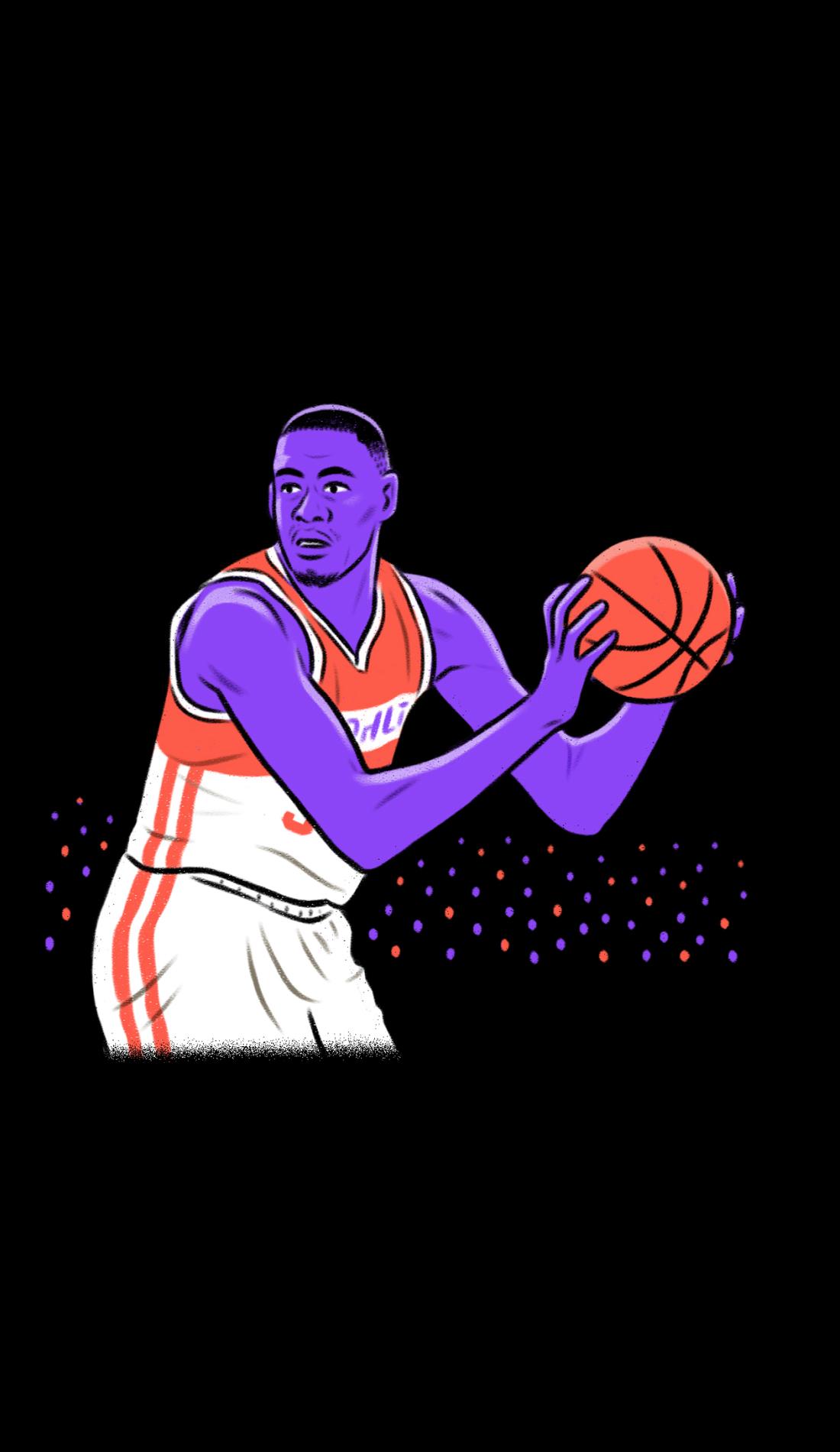 A Presbyterian Blue Hose Basketball live event