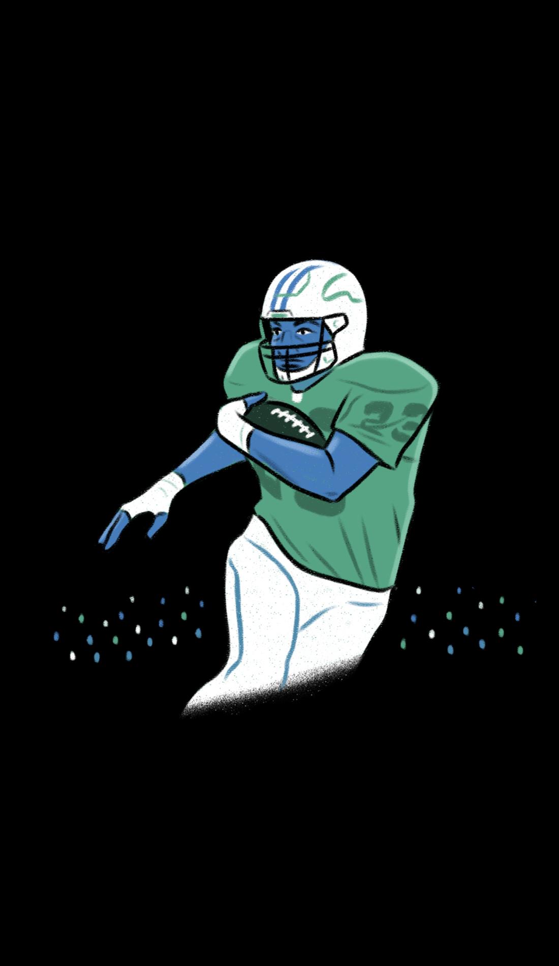 A Presbyterian Blue Hose Football live event