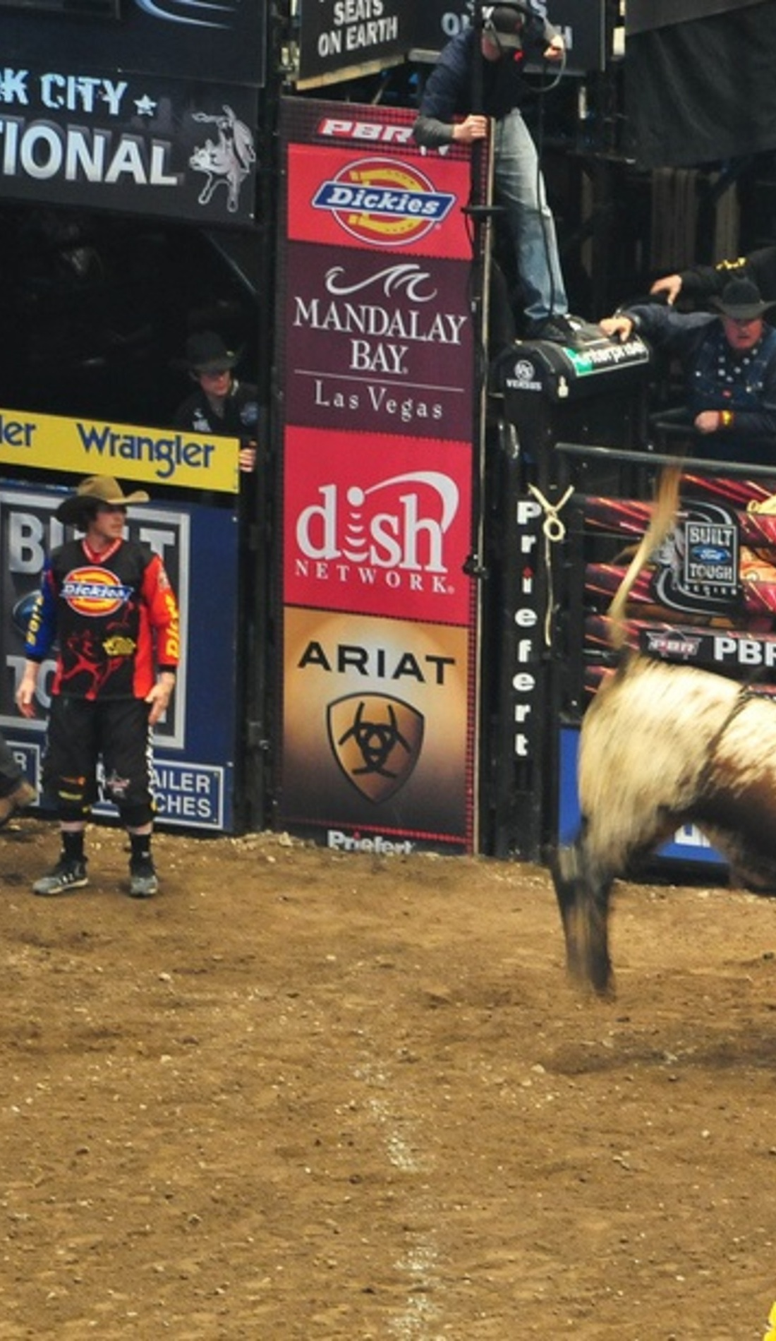 A Professional Bull Riders live event