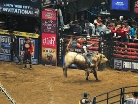 Real Time Pain Relief Velocity Tour: PBR - Professional Bull Riders