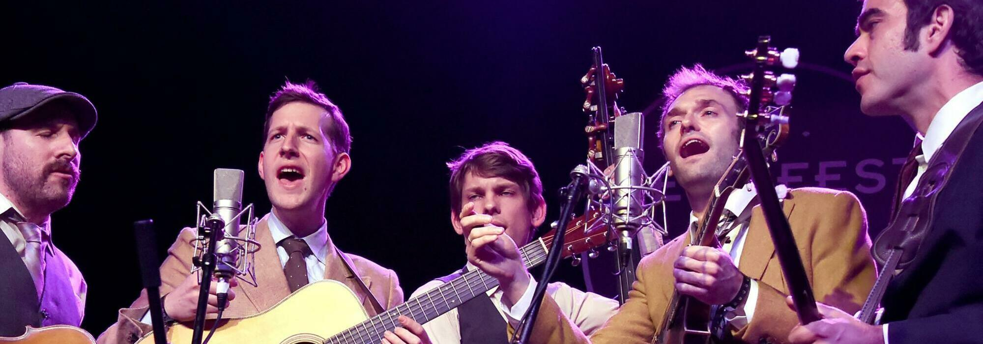 A Punch Brothers live event