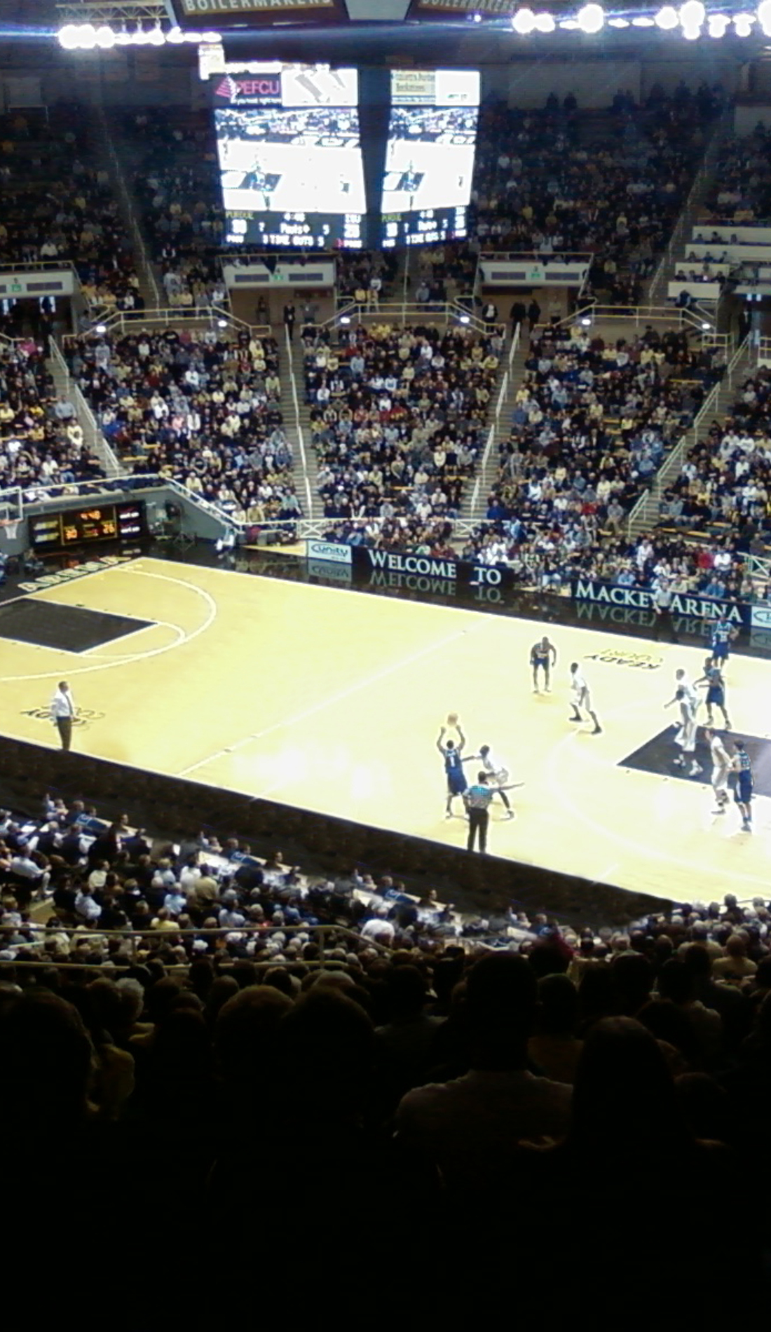 A Purdue Boilermakers Basketball live event