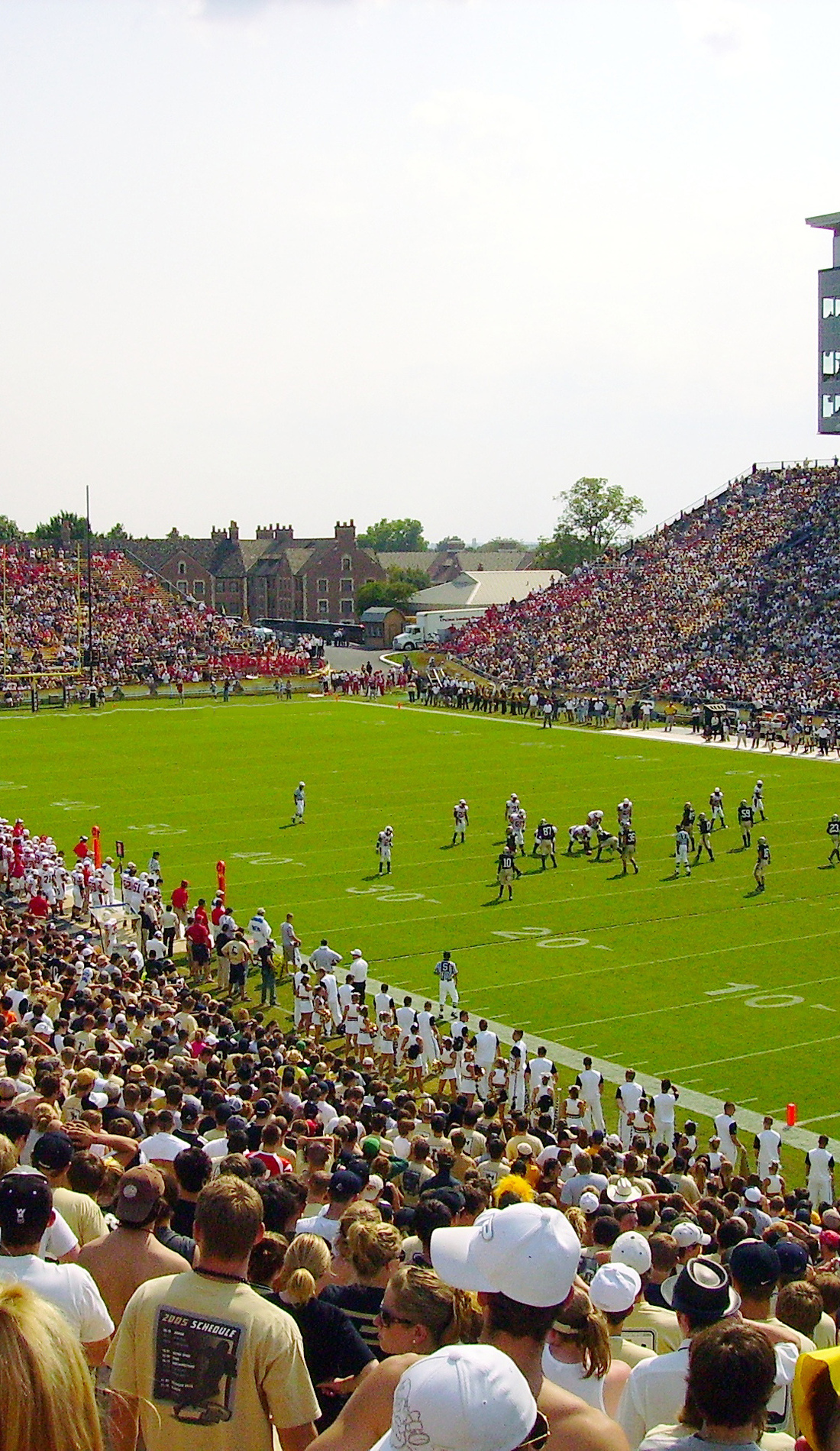A Purdue Boilermakers Football live event