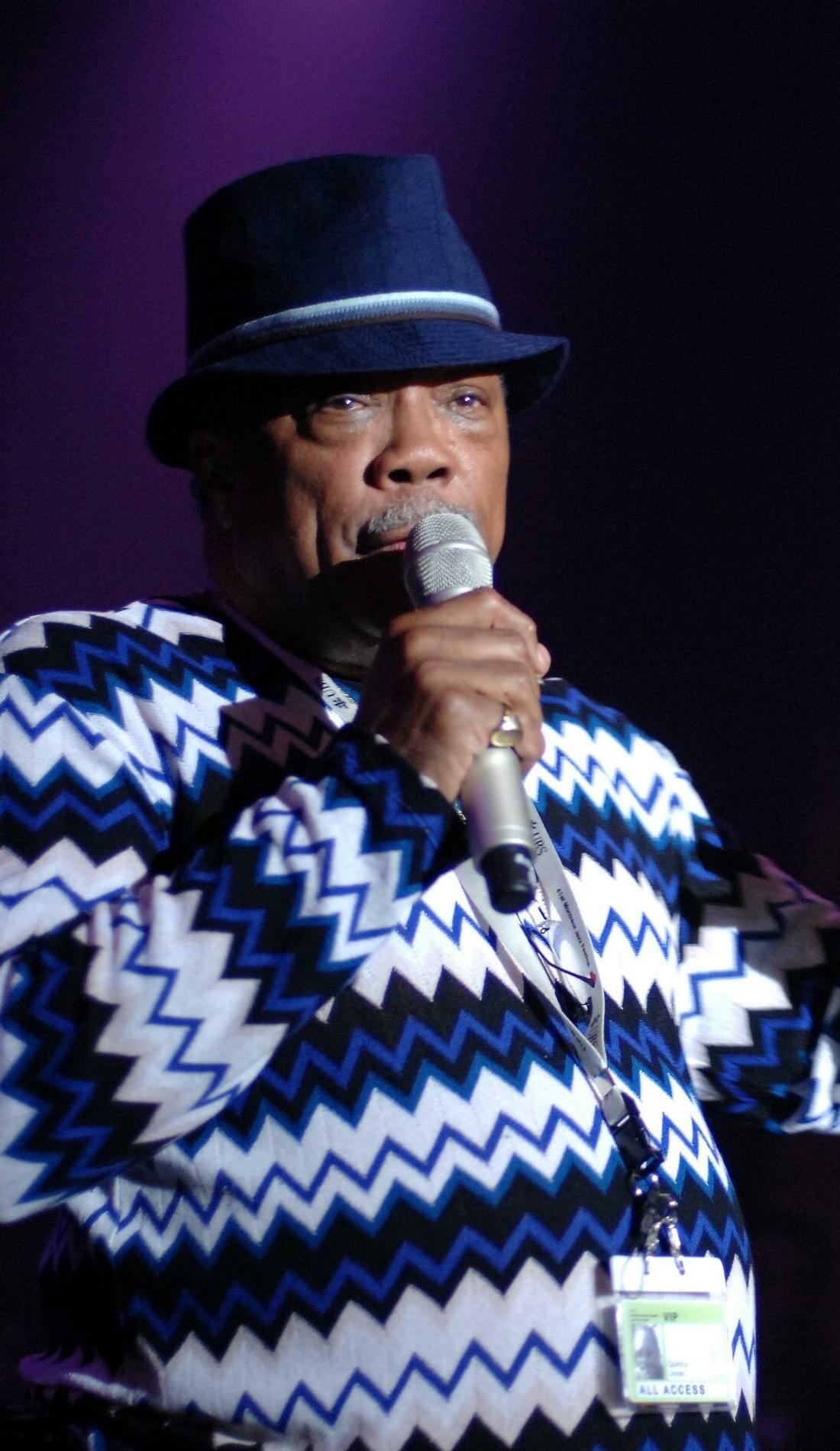 A Quincy Jones live event