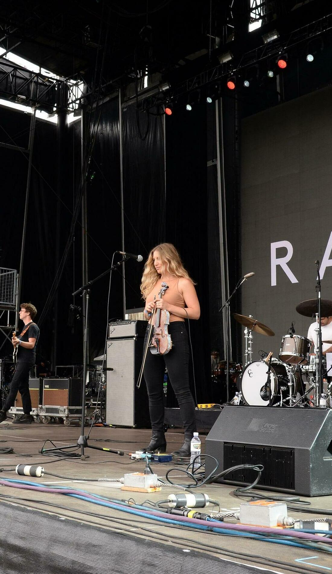 A Ra Ra Riot live event