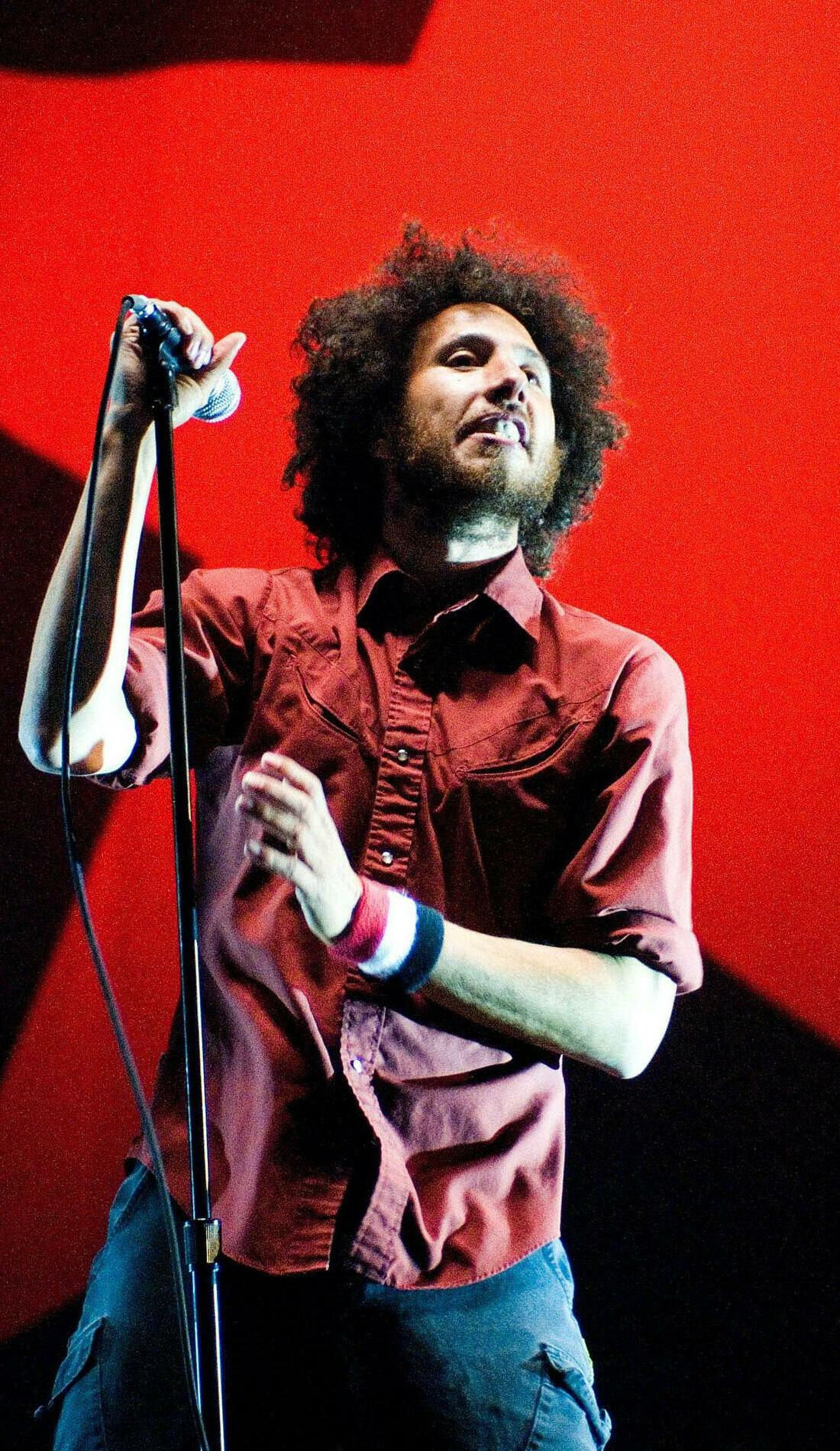 A Rage Against The Machine live event