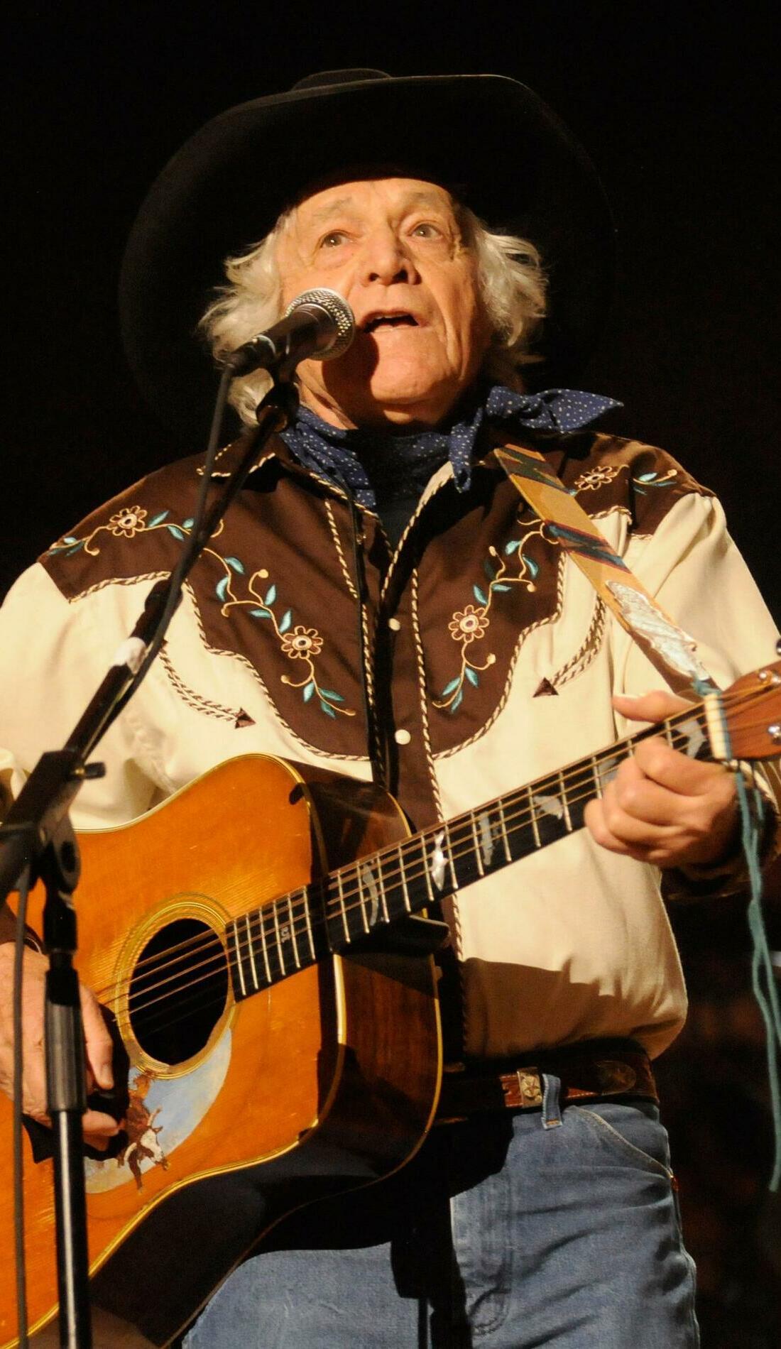 A Ramblin' Jack Elliott live event