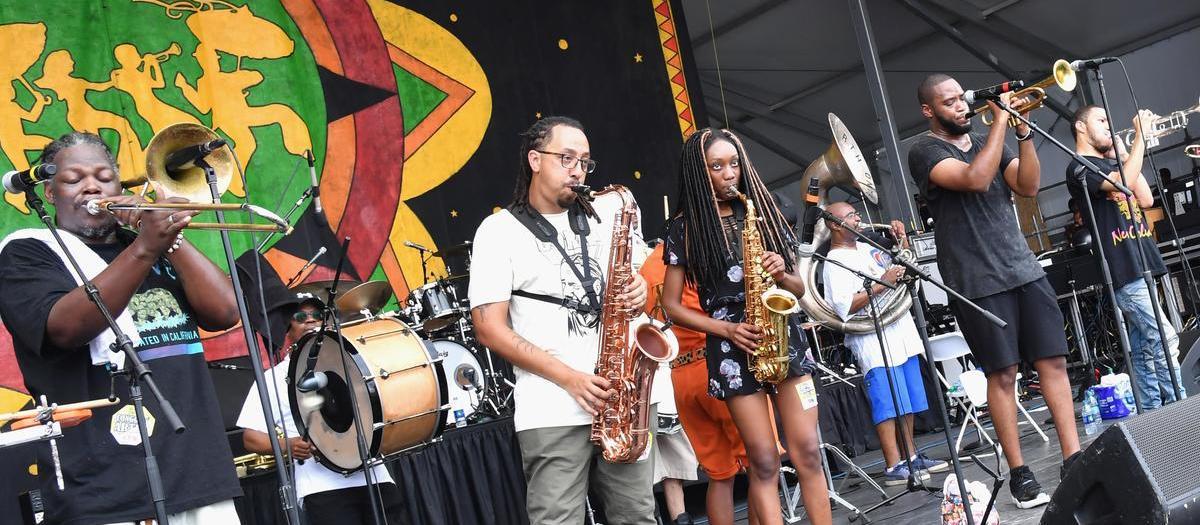 Rebirth Brass Band (21+)