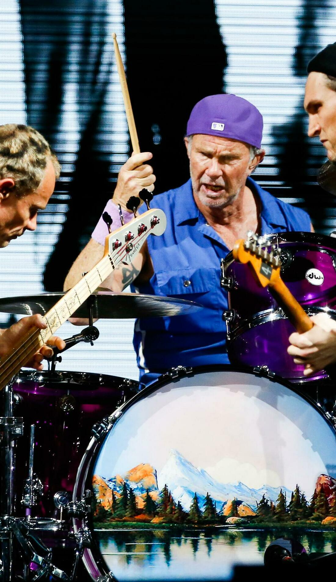 A Red Hot Chili Peppers live event