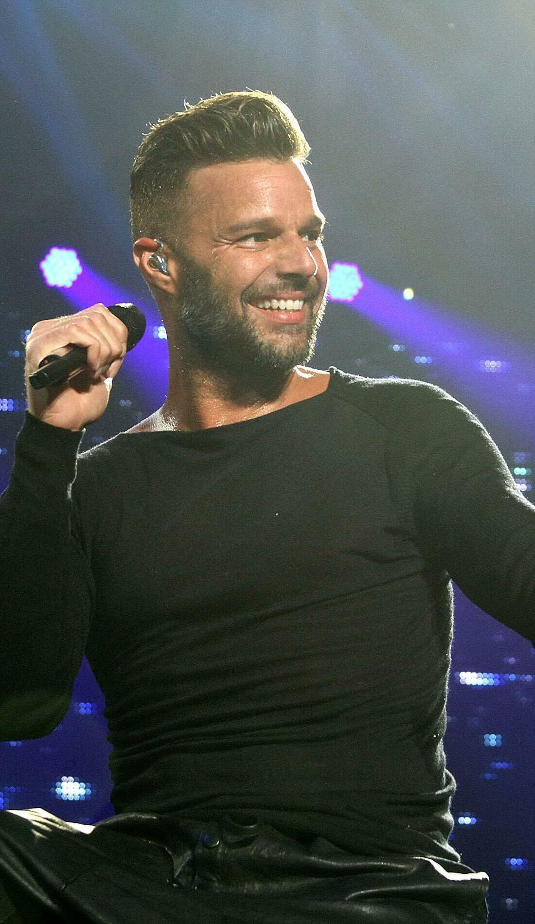 A Ricky Martin live event