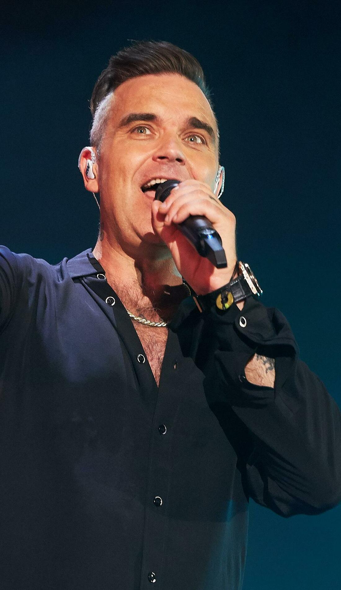 A Robbie Williams live event