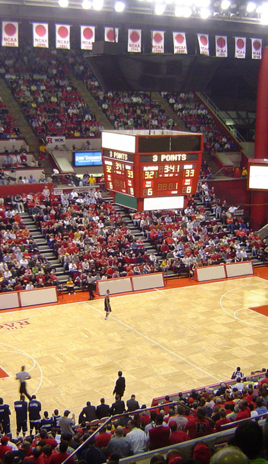 A Rutgers Scarlet Knights Basketball live event