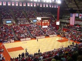 Michigan State Spartans at Rutgers Scarlet Knights Basketball