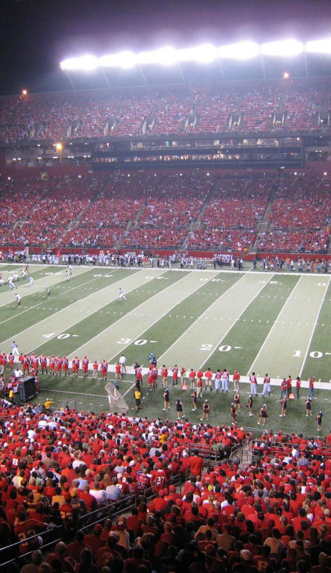 A Rutgers Scarlet Knights Football live event
