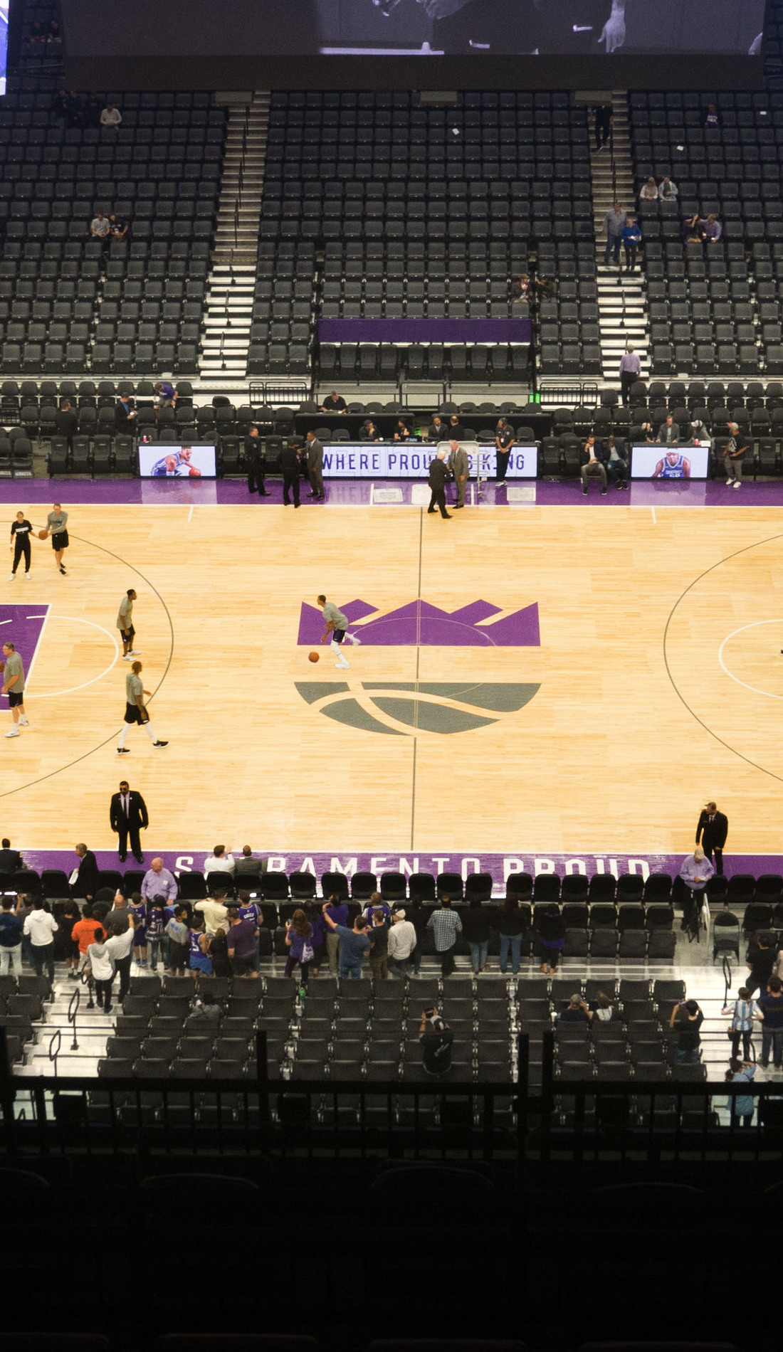 A Sacramento Kings live event