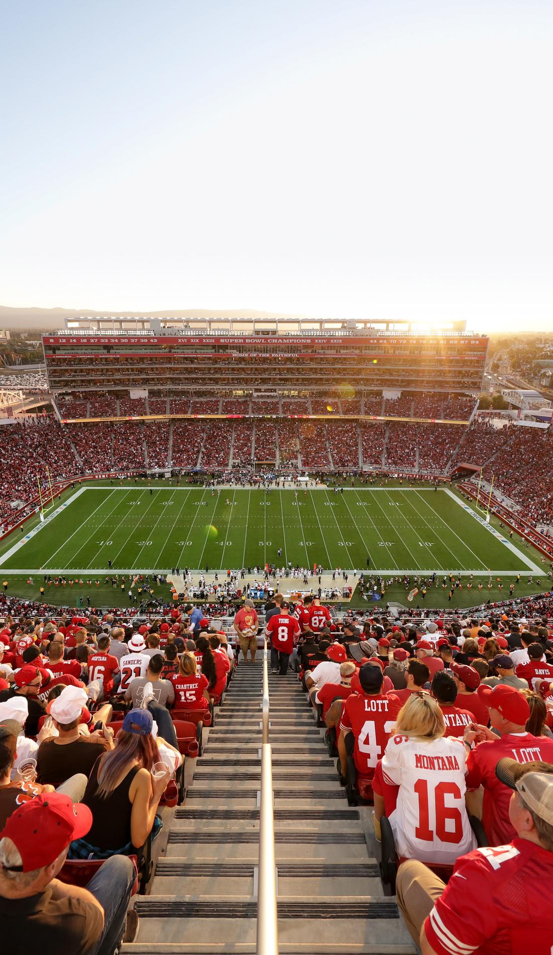 A San Francisco 49ers live event