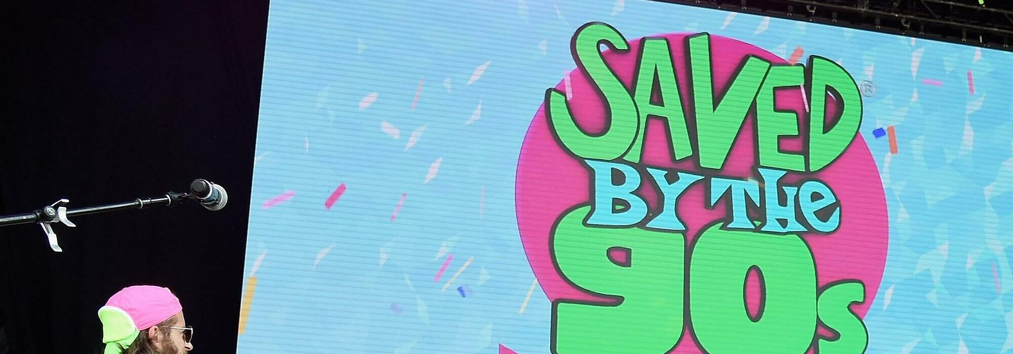 A Saved by the 90's live event