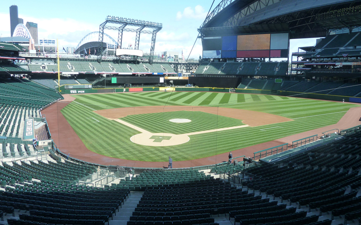 Safeco field seating chart map seatgeek