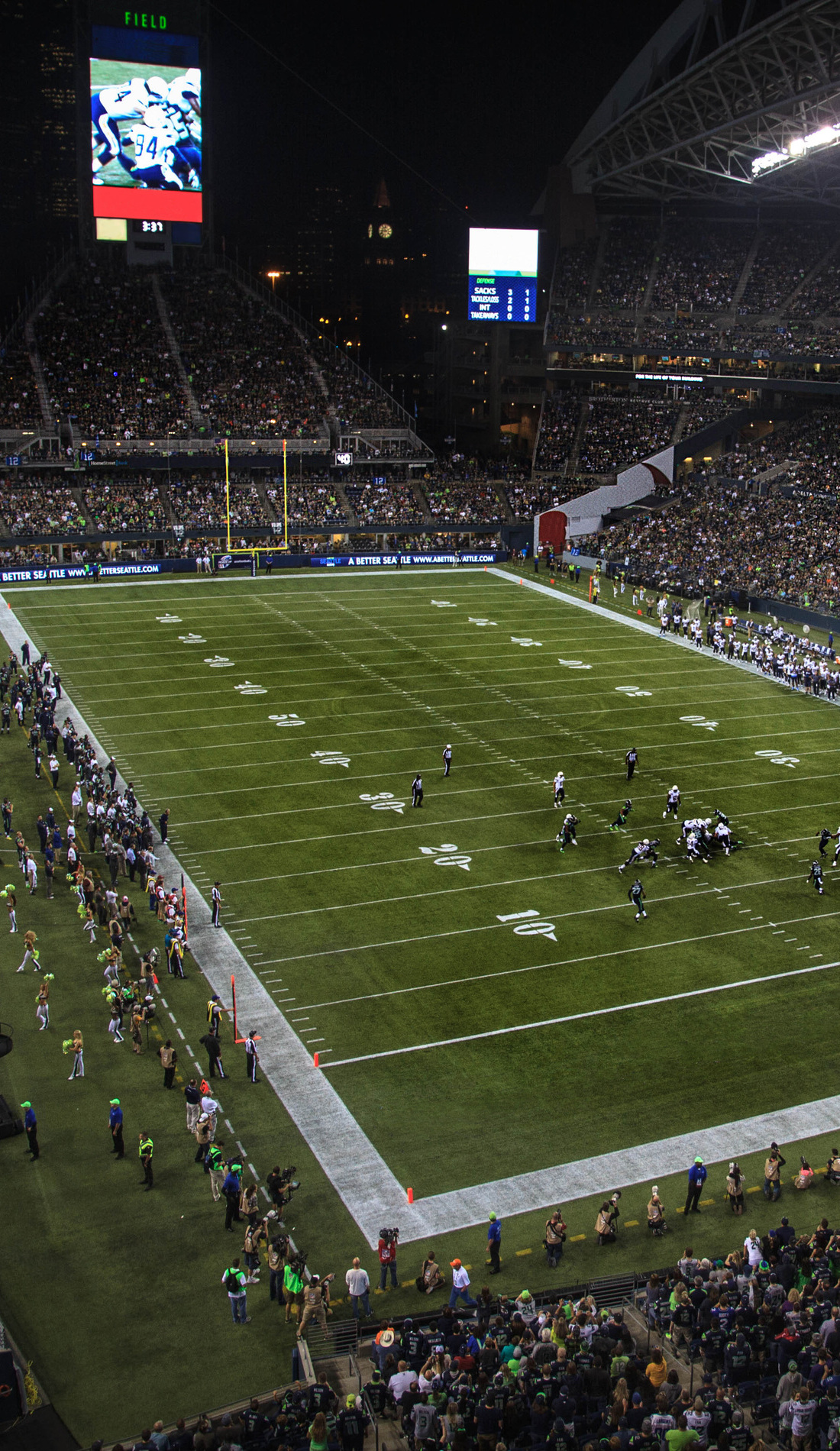 A Seattle Seahawks live event