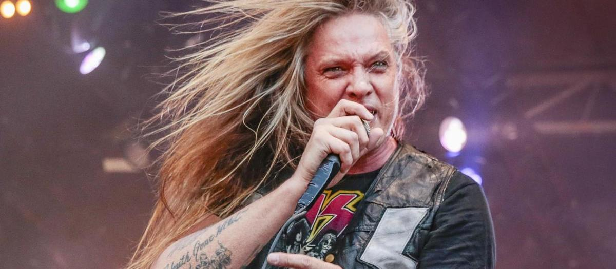 Sebastian Bach with Stitched up Heart