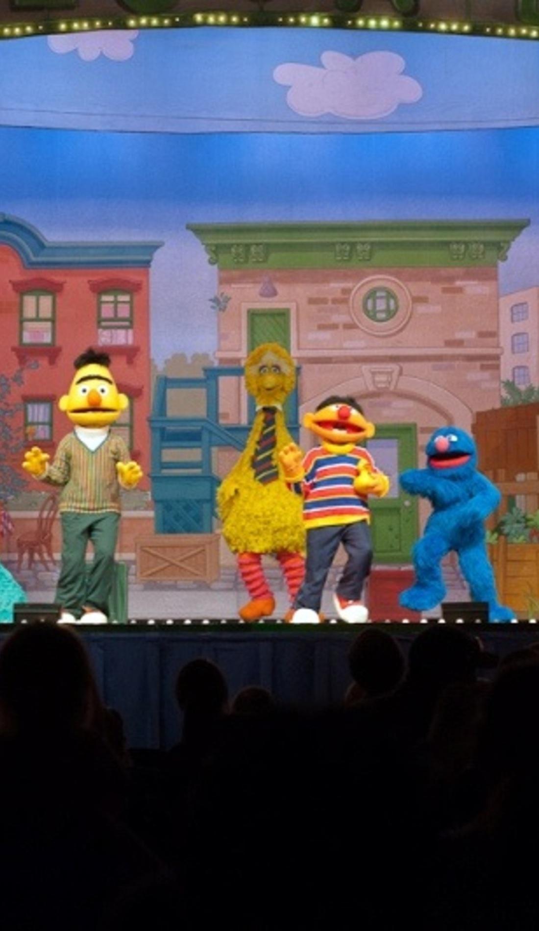 A Sesame Street Live: Elmo Makes Music live event