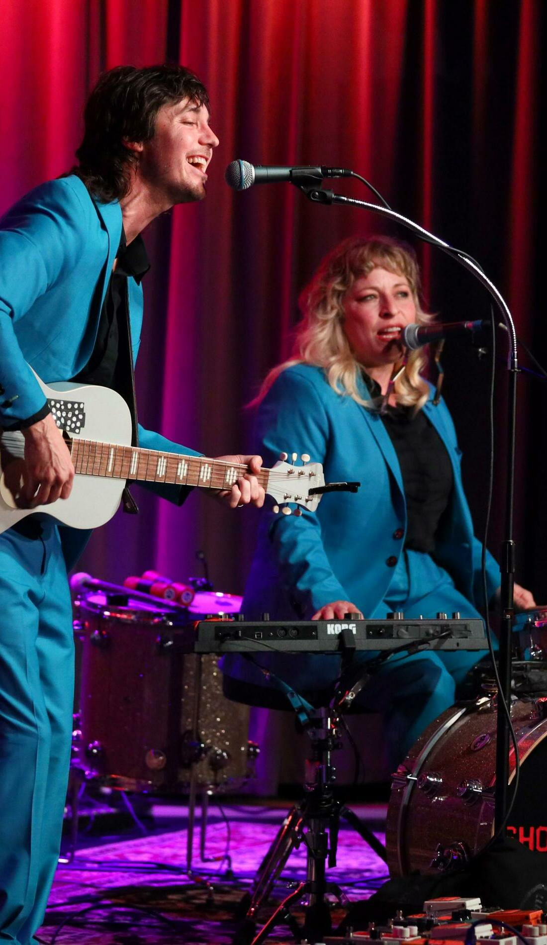 A Shovels & Rope live event