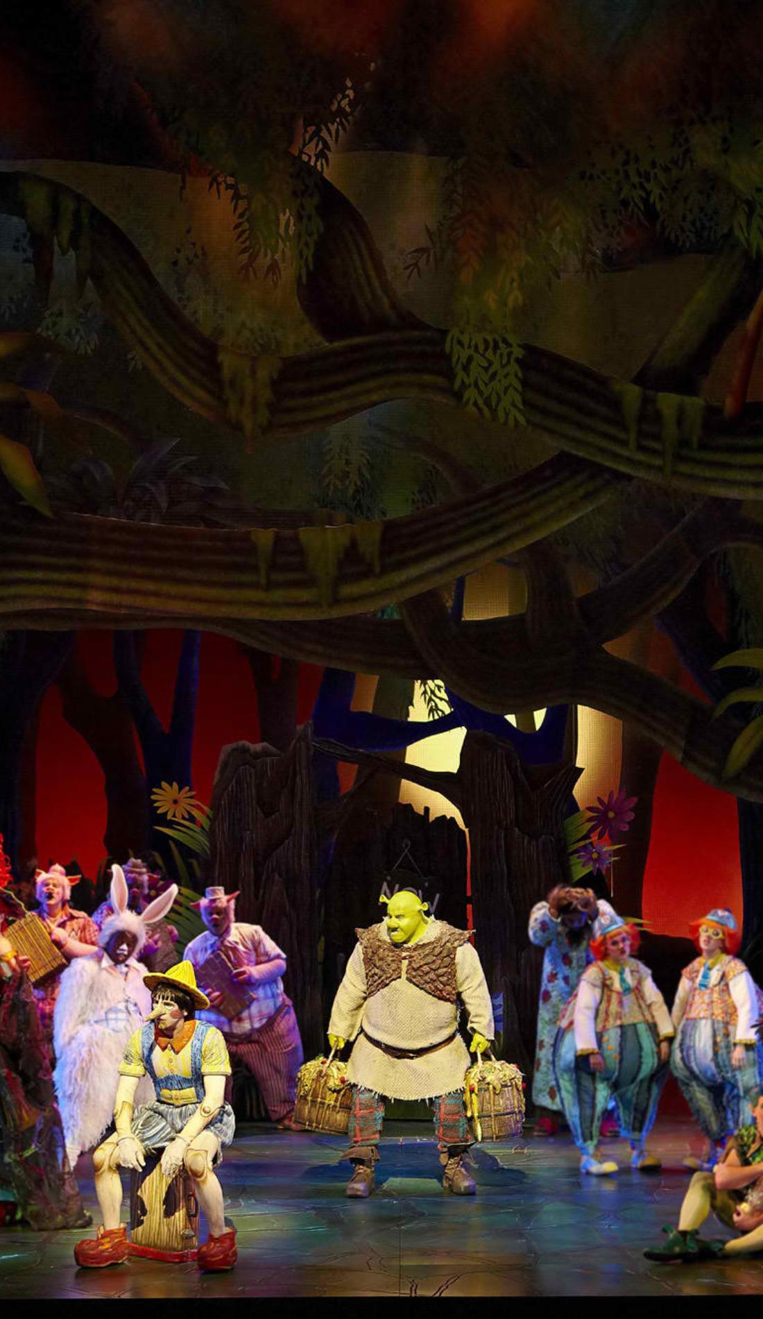 A Shrek live event