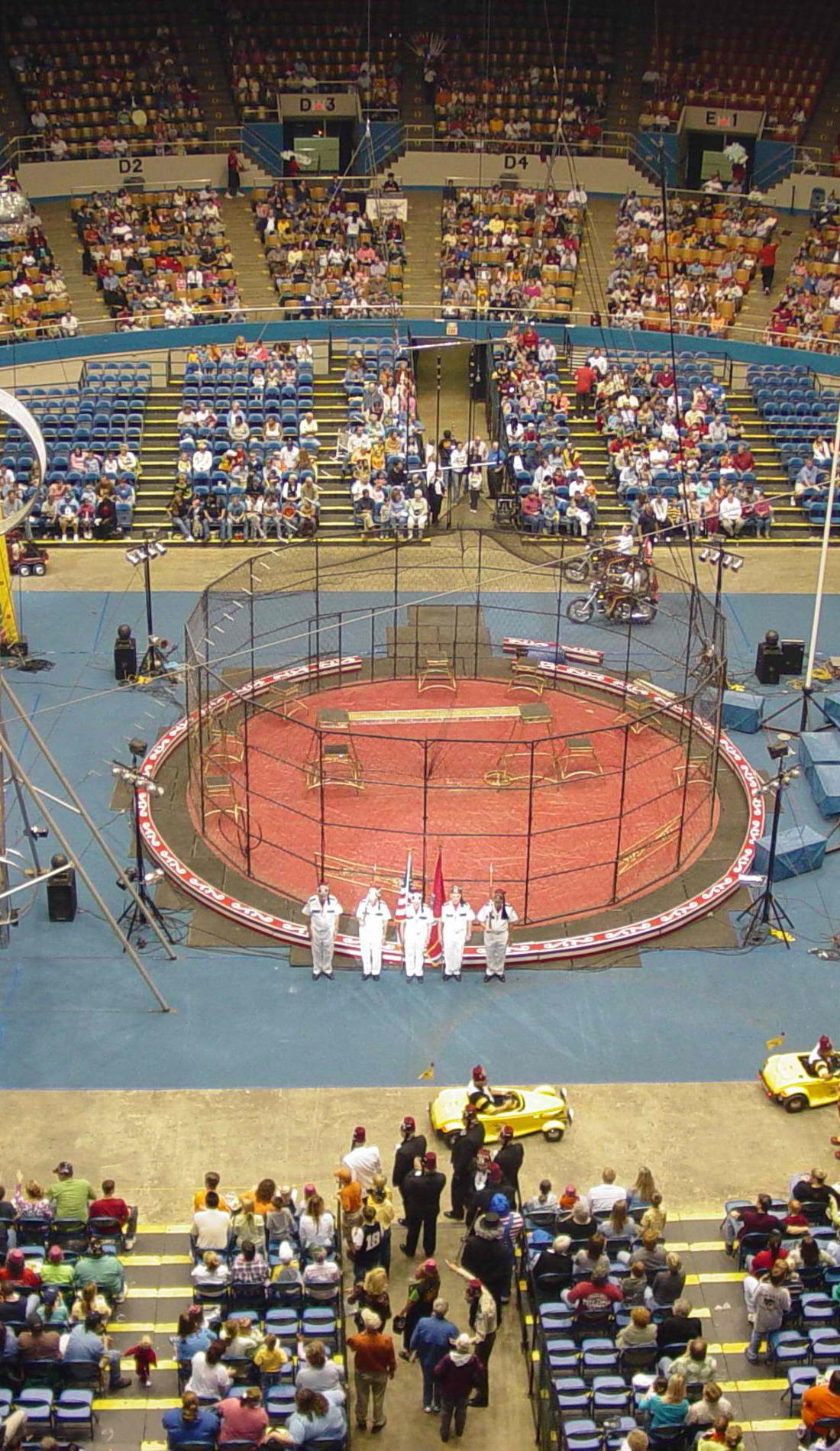 A Shrine Circus live event