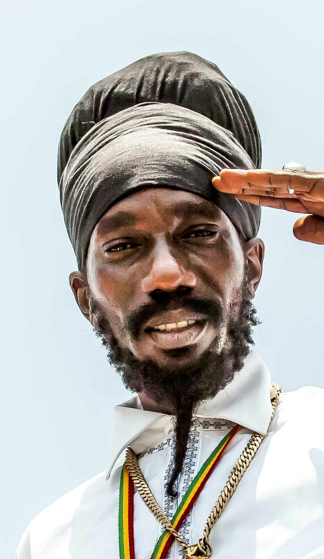 A Sizzla live event
