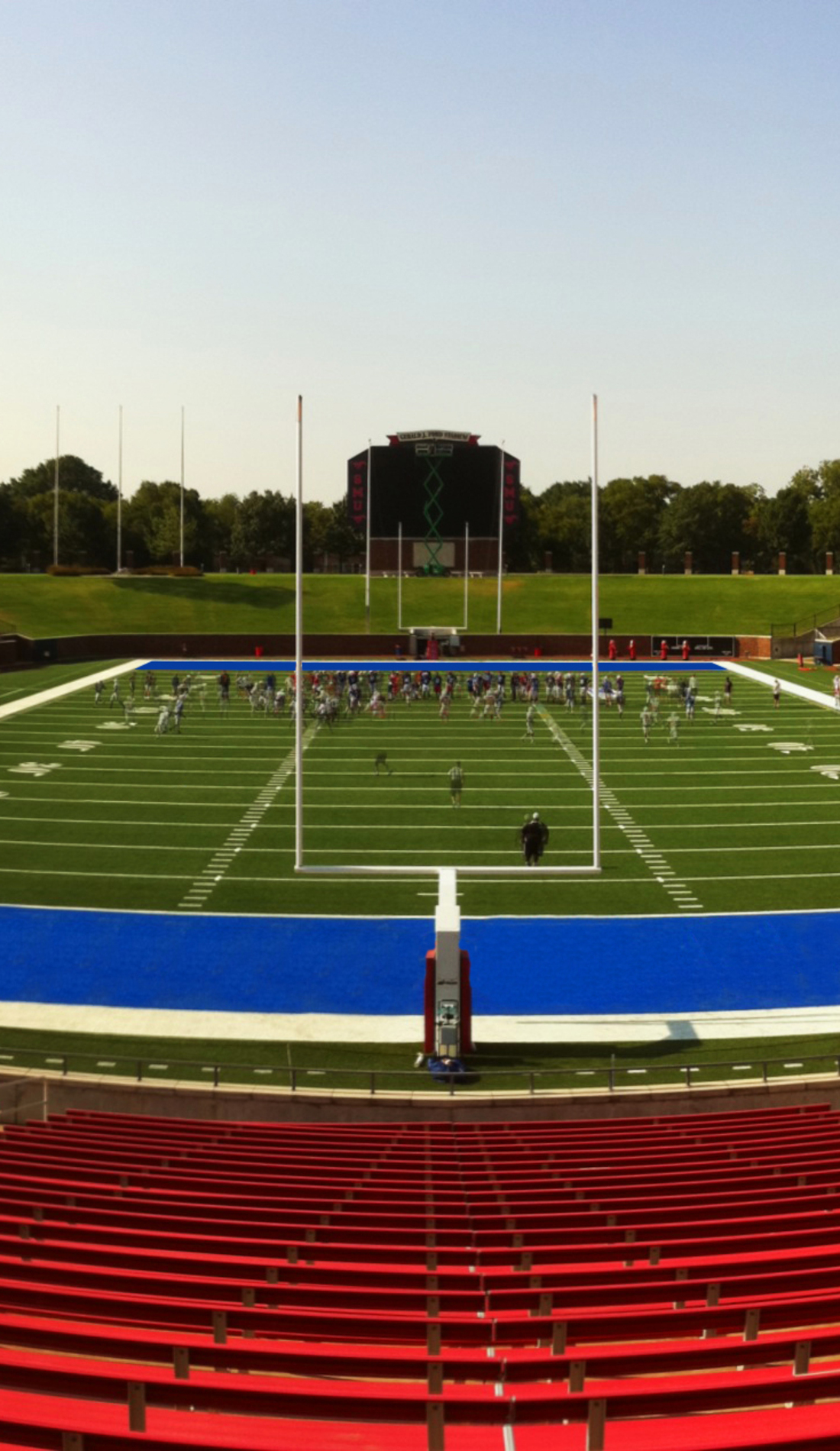 A SMU Mustangs Football live event