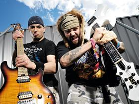 Soulfly with Cannabis Corpse