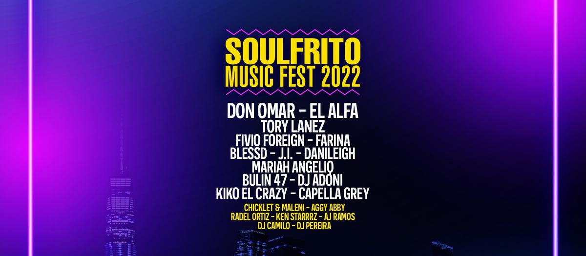Soulfrito Music Festival Tickets