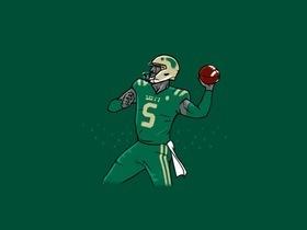 South Florida Bulls at Navy Midshipmen Football