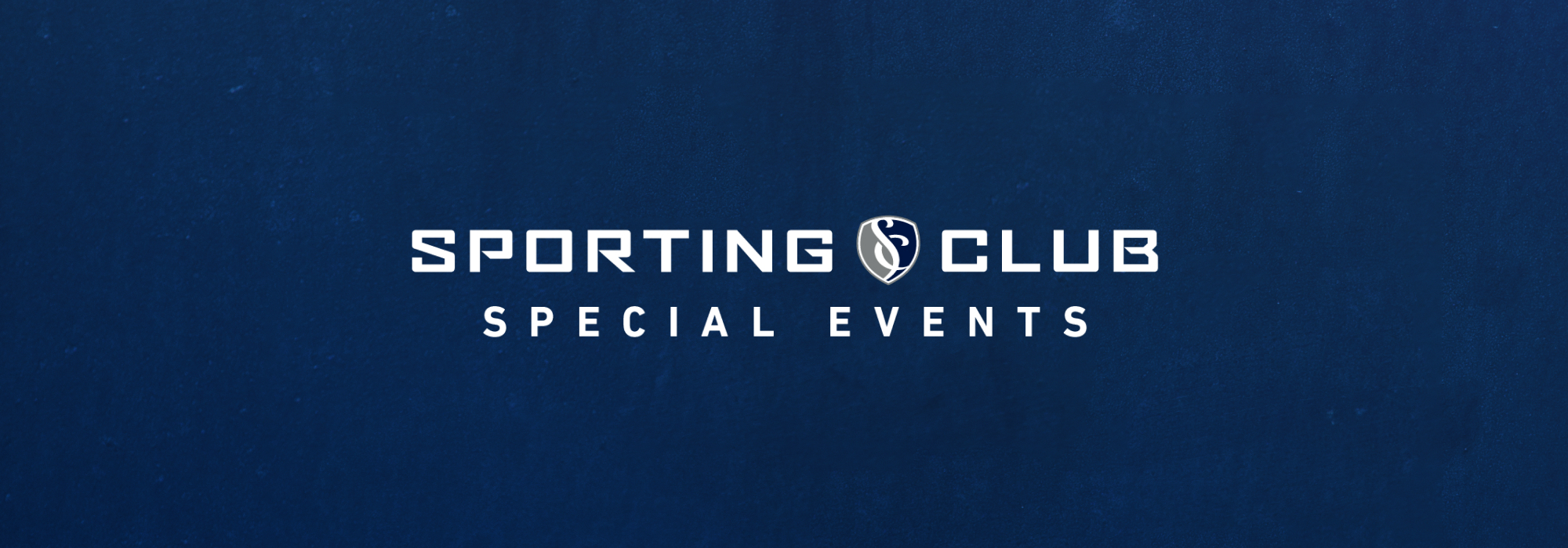 A Sporting Club Special Events live event