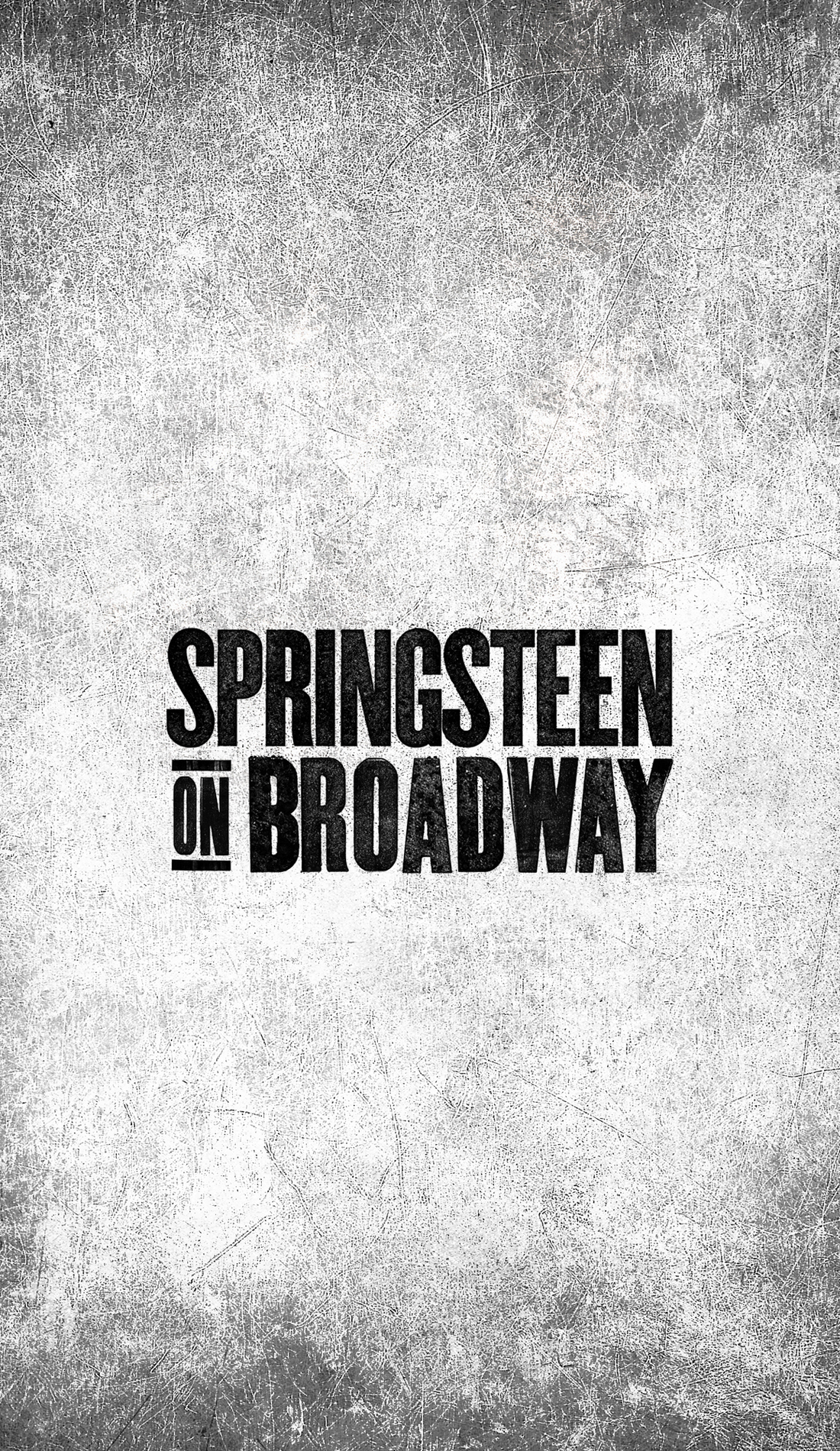 A Springsteen on Broadway live event