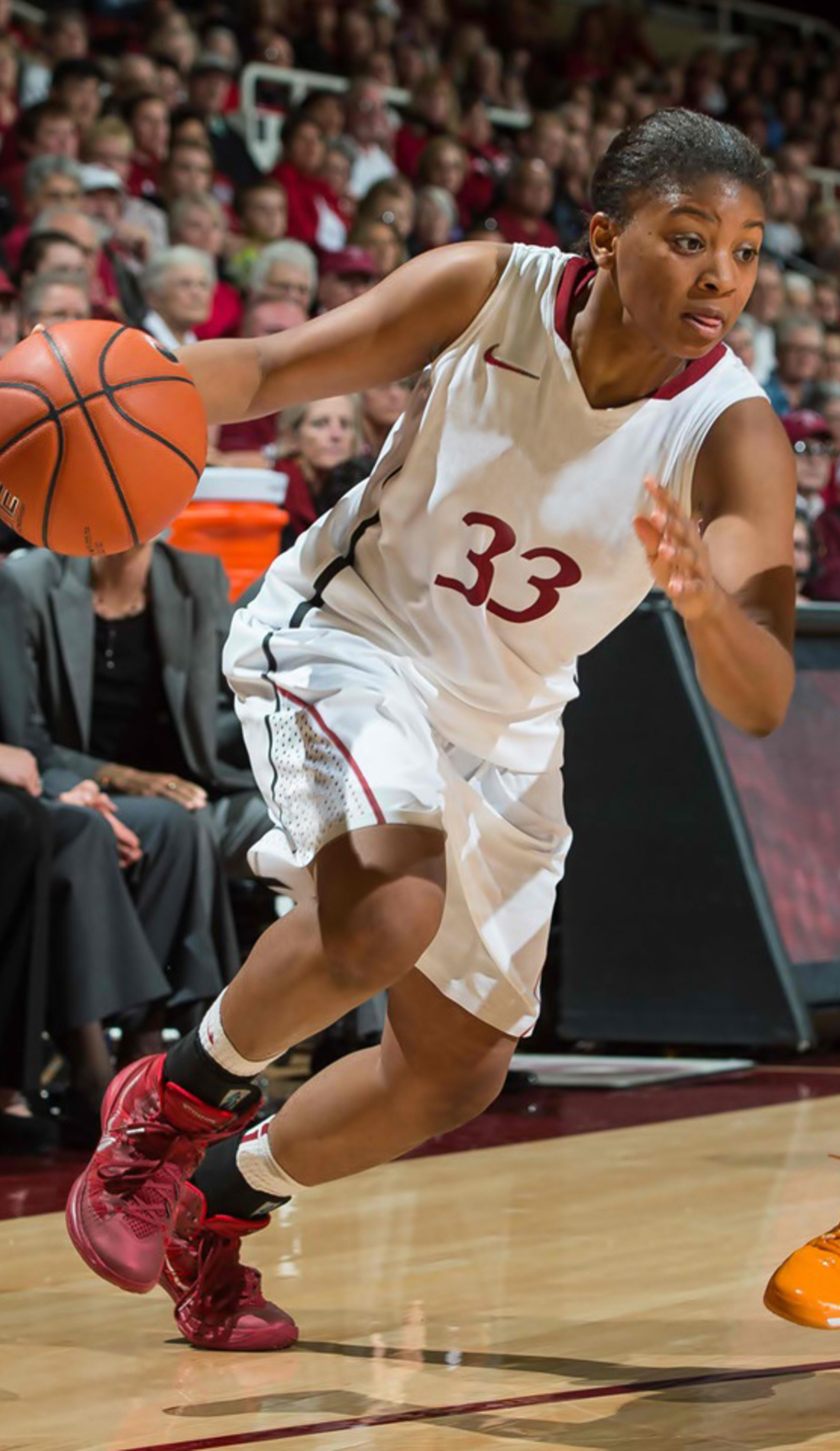 A Stanford Cardinal Womens Basketball live event
