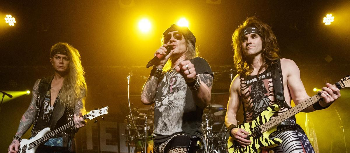 Steel Panther with Black Stone Cherry