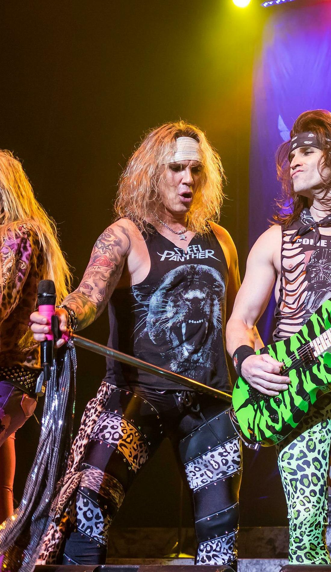 A Steel Panther live event