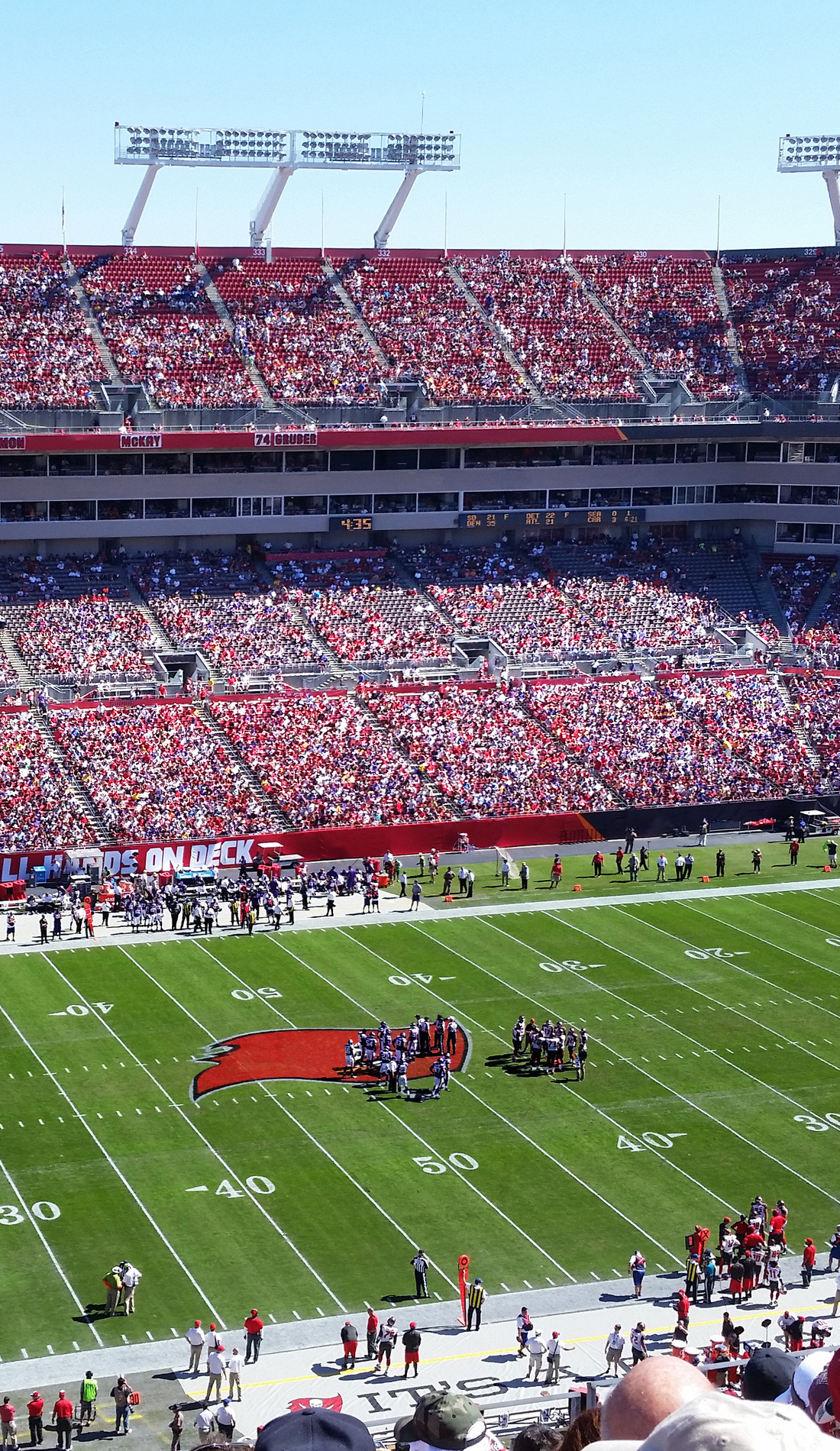 A Tampa Bay Buccaneers live event