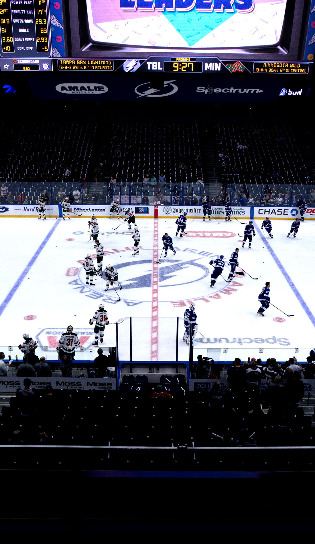A Tampa Bay Lightning live event