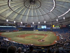Cleveland Indians at Tampa Bay Rays