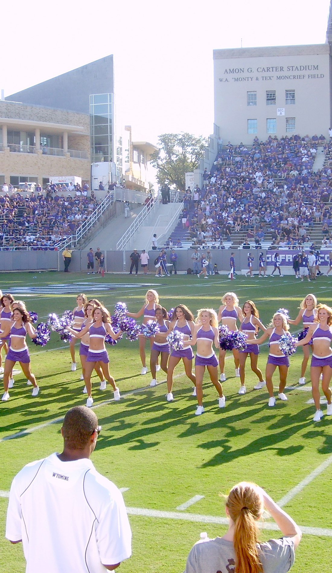 A TCU Horned Frogs Football live event