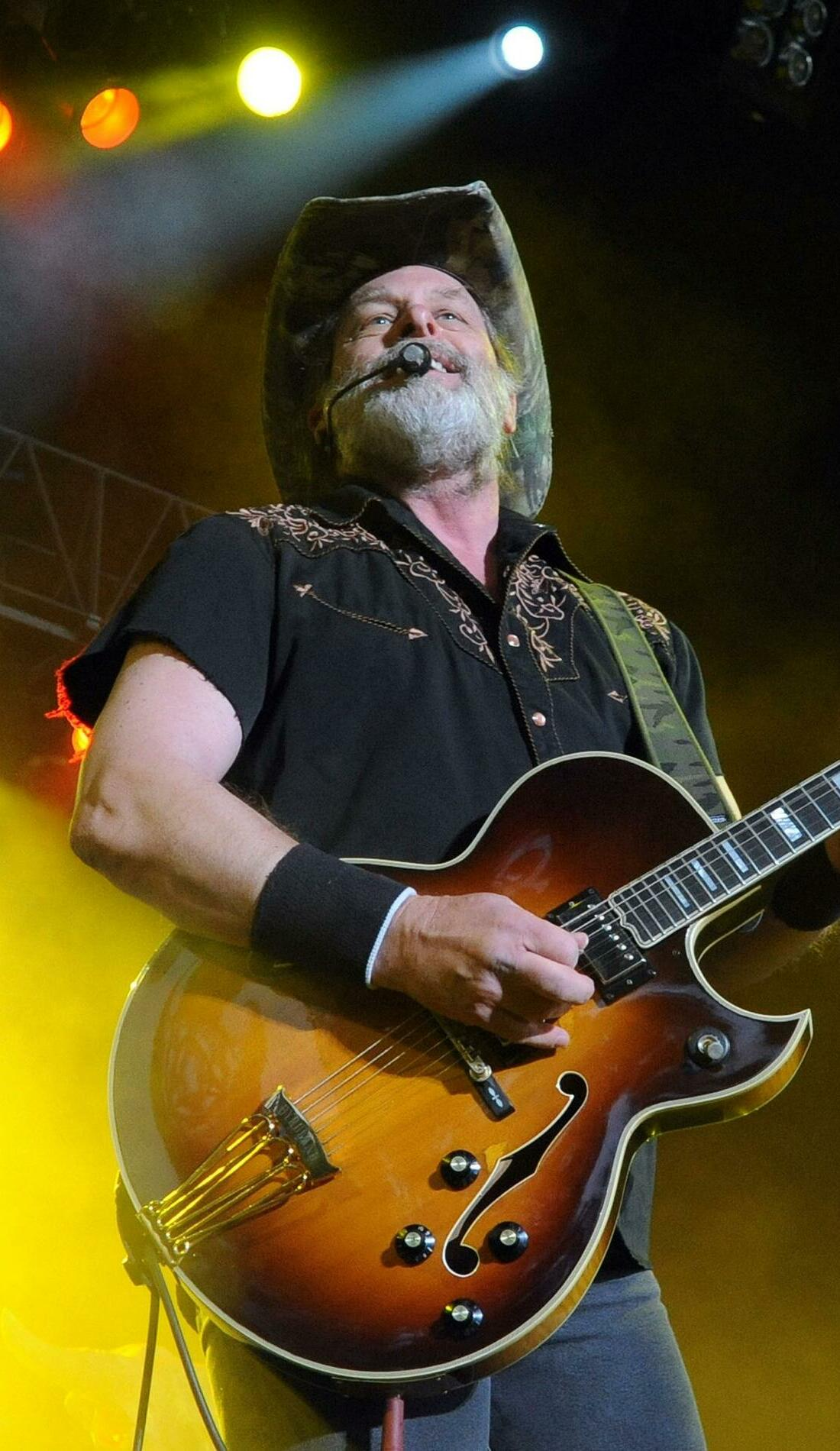 A Ted Nugent live event